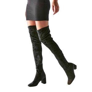 Jeffrey Campbell 'Cienega' Thigh High Velvet Boots